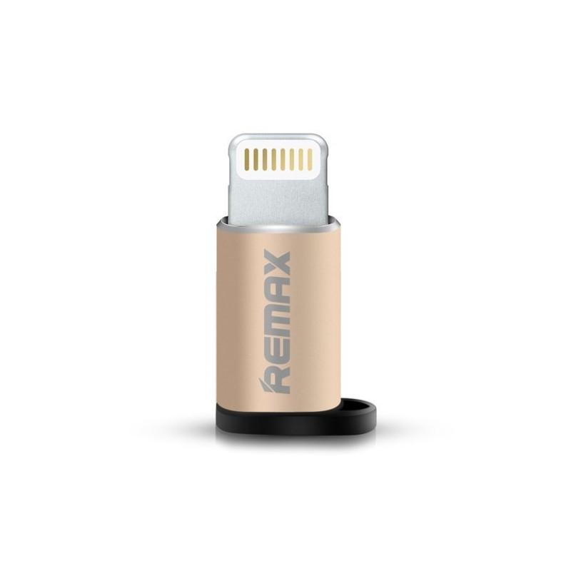 Đầu chuyển từ MicroUsb sang Lighning Remax RA-USB2 - Hàng nhập khẩu - 1974269 , 9836214717165 , 62_15279932 , 79000 , Dau-chuyen-tu-MicroUsb-sang-Lighning-Remax-RA-USB2-Hang-nhap-khau-62_15279932 , tiki.vn , Đầu chuyển từ MicroUsb sang Lighning Remax RA-USB2 - Hàng nhập khẩu