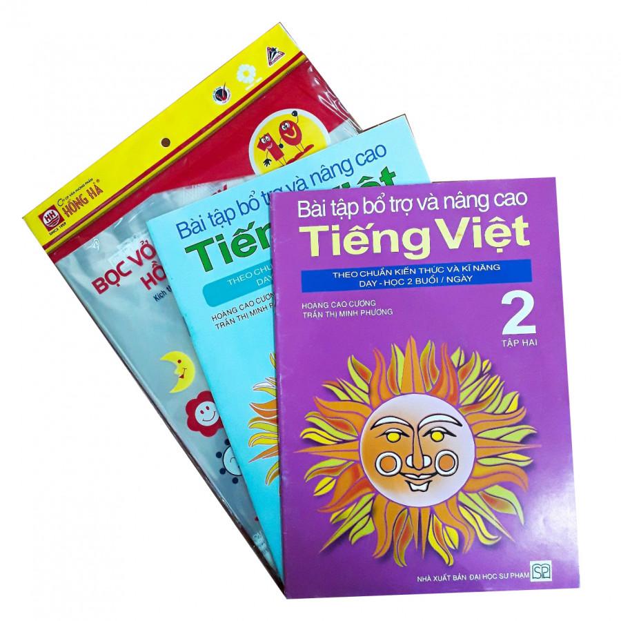 Combo Bài Tập Bổ Trợ Và Nâng Cao Tiếng Việt Lớp 2 + Tập Bọc Sách Vở