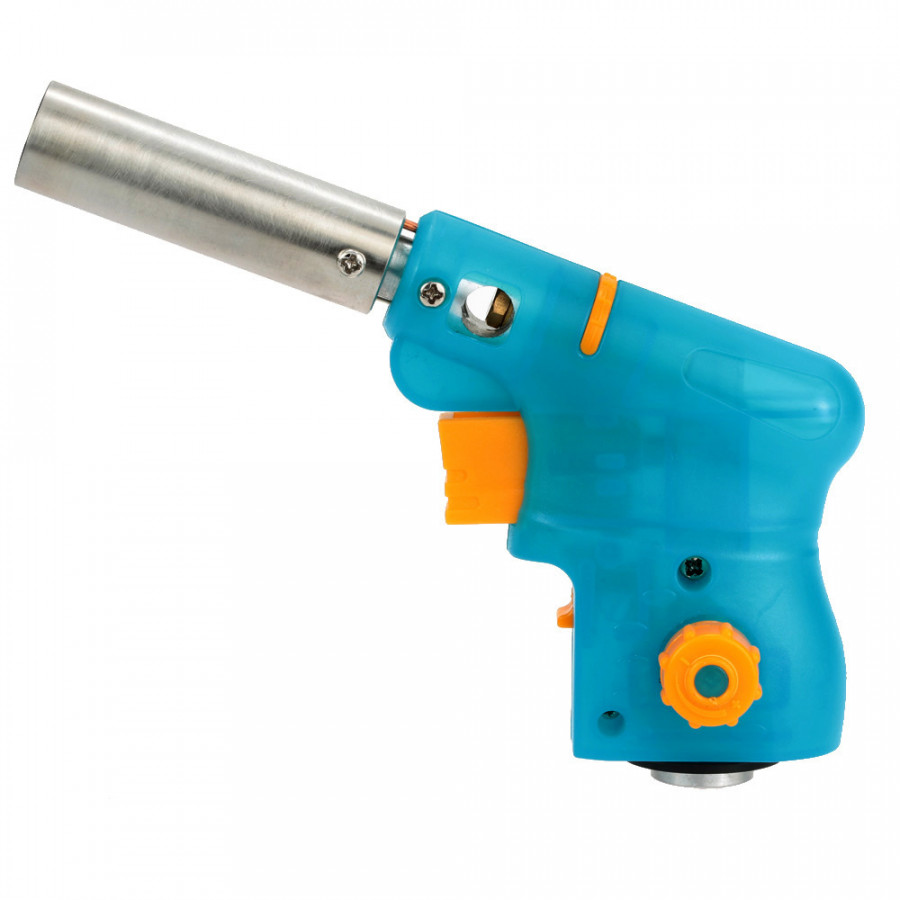 Light  Compact Outdoor Gas Torch Butane Burner Electronic Ignition Camping Welding Flamethrower for BBQ Food Treatment - Blue - 1467037 , 6556020206211 , 62_14332853 , 396000 , Light-Compact-Outdoor-Gas-Torch-Butane-Burner-Electronic-Ignition-Camping-Welding-Flamethrower-for-BBQ-Food-Treatment-Blue-62_14332853 , tiki.vn , Light  Compact Outdoor Gas Torch Butane Burner Electronic I
