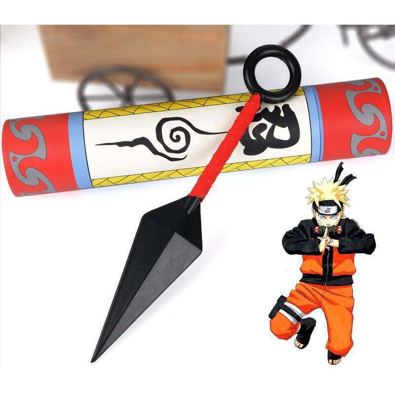 Kunai Naruto hợp kim có ống đựng