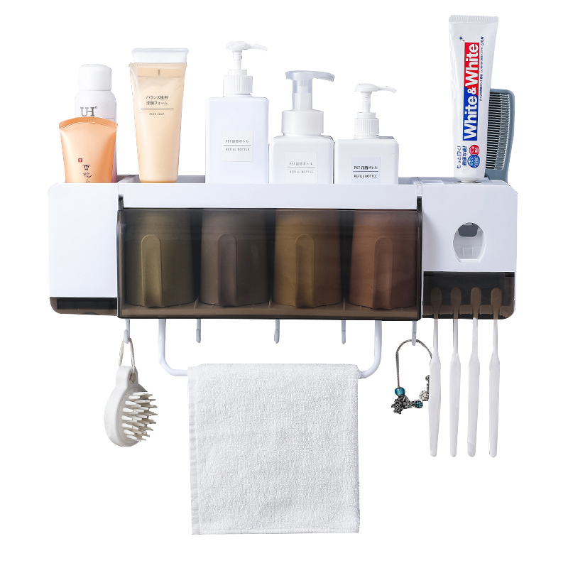 Giá để đồ nhà tắm đa năng mẫu 4 cốc - kệ phòng tắm - 1613338 , 3879162040790 , 62_11409675 , 599000 , Gia-de-do-nha-tam-da-nang-mau-4-coc-ke-phong-tam-62_11409675 , tiki.vn , Giá để đồ nhà tắm đa năng mẫu 4 cốc - kệ phòng tắm