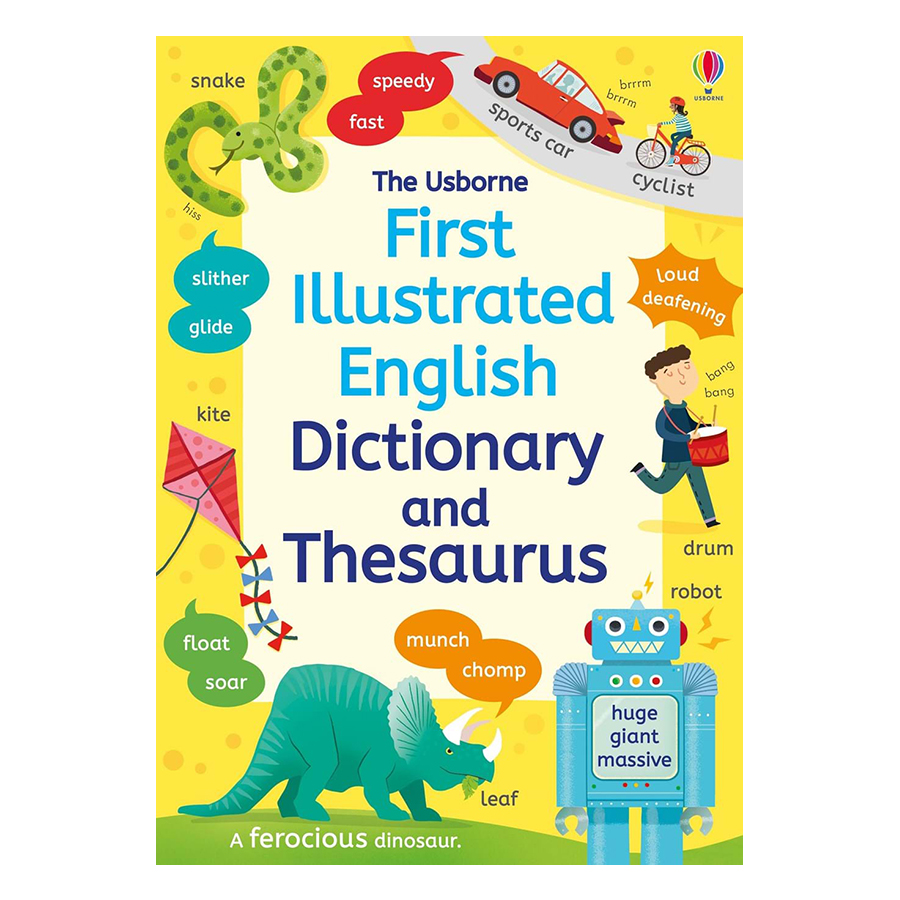 Usborne First Illustrated Dictionary and Thesaurus