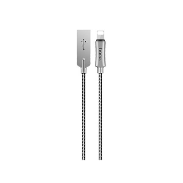 Cáp sạc iPhone HoCo U10 cổng Lightning (Đen)