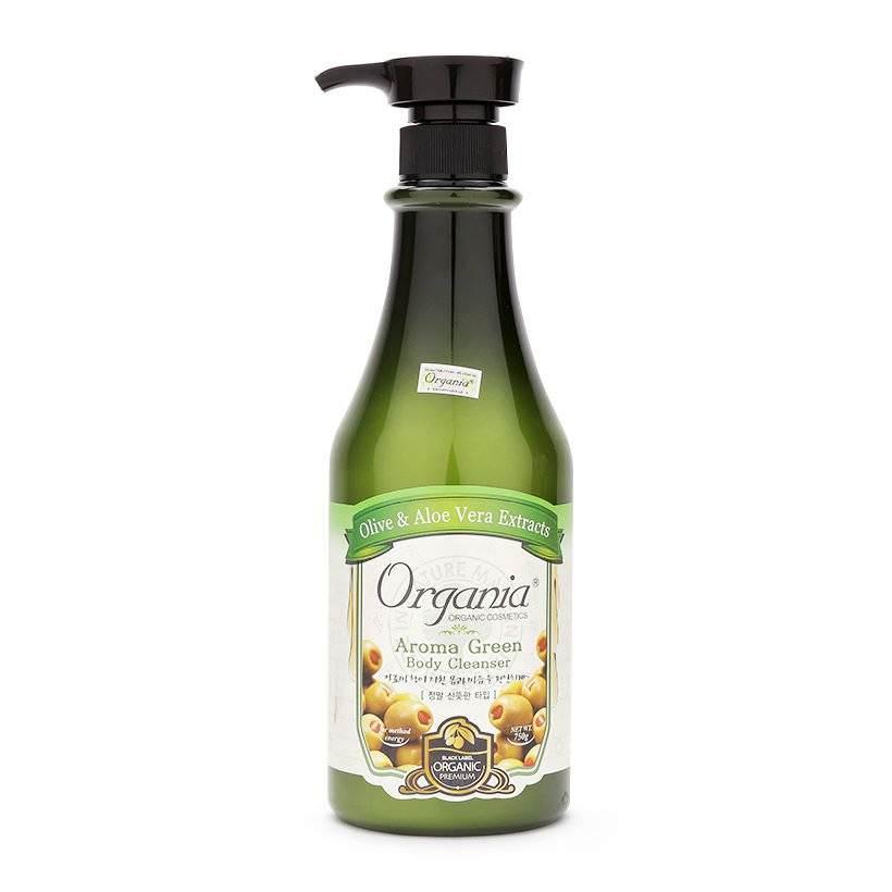 Sữa Tắm Thư Giãn Relaxing Olive Body Cleanser Organia (750g)