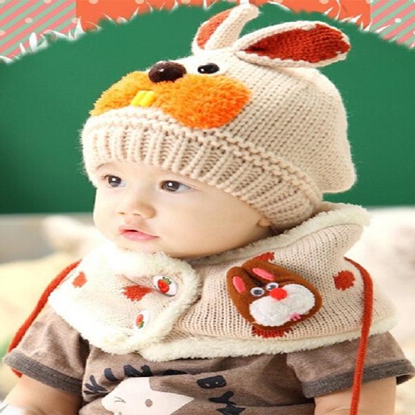 Bộ mũ và khăn len tai thỏ cho bé - 9473533 , 4217634023695 , 62_7760553 , 230000 , Bo-mu-va-khan-len-tai-tho-cho-be-62_7760553 , tiki.vn , Bộ mũ và khăn len tai thỏ cho bé
