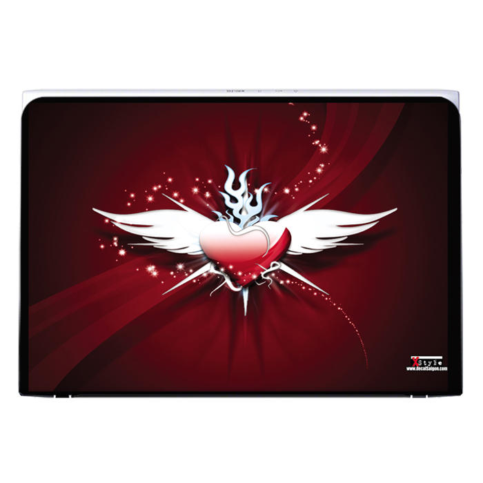 Mẫu Dán Decal Laptop Logo LTNT-211