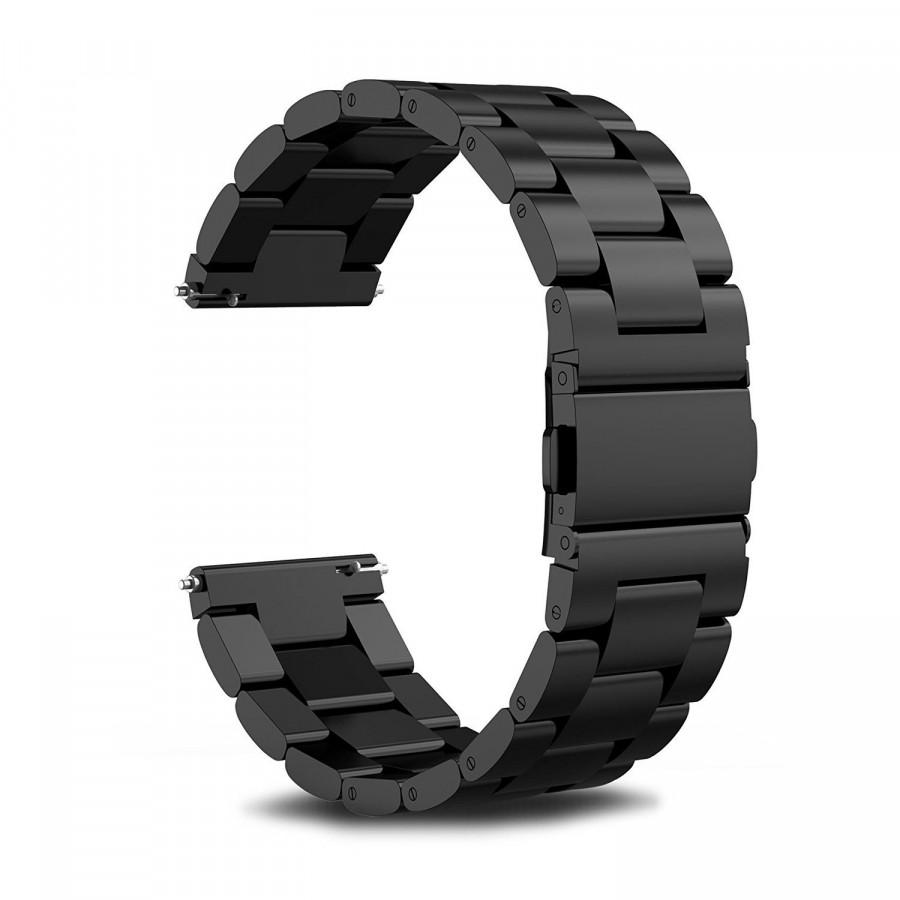 Dây đồng hồ 20mm, dây 3 mắt dành cho đồng hồ Samsung Galaxy Watch 42mm,Gear Active, Gear Sport, Gear S2 Classic