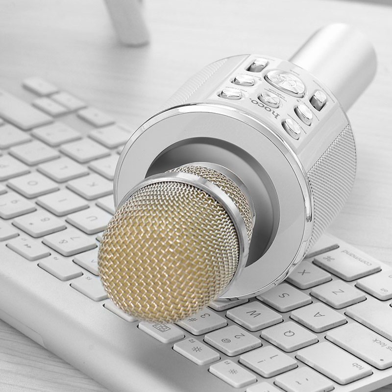 Mic Karaoke Hoco BK3 - hàng chính hãng (trắng) - 803408 , 9862112857382 , 62_14072416 , 852000 , Mic-Karaoke-Hoco-BK3-hang-chinh-hang-trang-62_14072416 , tiki.vn , Mic Karaoke Hoco BK3 - hàng chính hãng (trắng)