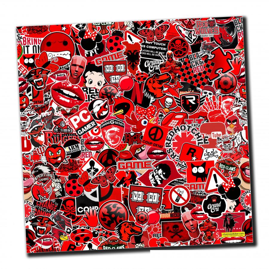 Sticker bomber hình dán nguyên tấm 50x50cm chủ đề - Black Red - 807412 , 9810581190301 , 62_14497957 , 150000 , Sticker-bomber-hinh-dan-nguyen-tam-50x50cm-chu-de-Black-Red-62_14497957 , tiki.vn , Sticker bomber hình dán nguyên tấm 50x50cm chủ đề - Black Red