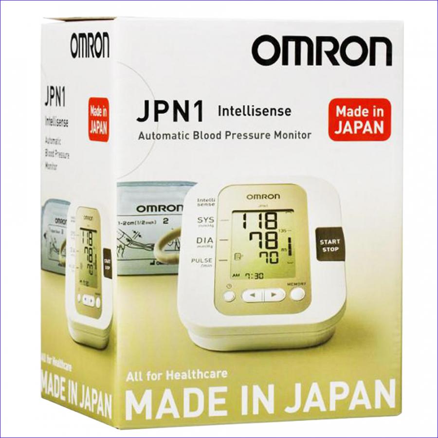 Máy đo huyết áp bắp tay OMRON JPN1 (MADE IN JAPAN) công nghệ Intellisense mới tự động. - 1197291 , 8476127837188 , 62_5011713 , 1770000 , May-do-huyet-ap-bap-tay-OMRON-JPN1-MADE-IN-JAPAN-cong-nghe-Intellisense-moi-tu-dong.-62_5011713 , tiki.vn , Máy đo huyết áp bắp tay OMRON JPN1 (MADE IN JAPAN) công nghệ Intellisense mới tự động.