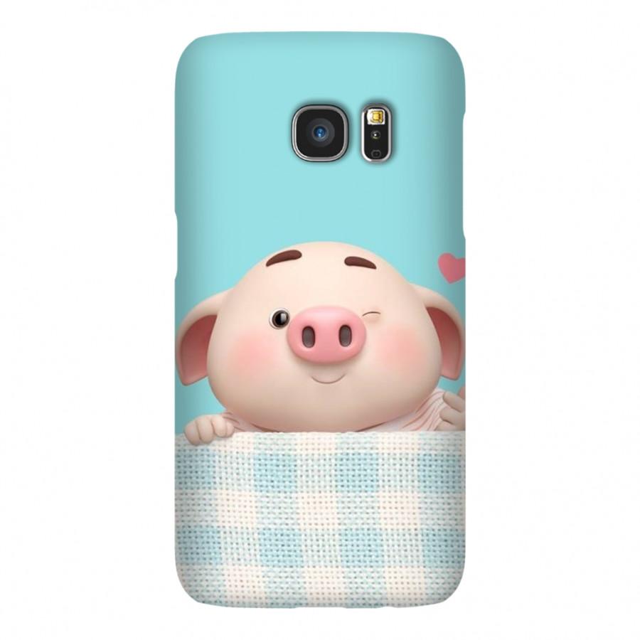 Ốp Lưng Cho Điện Thoại Samsung Galaxy S7 - Mẫu heocon 134