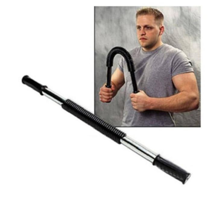 Gậy tập bẻ cơ tay, cơ bụng lực bẻ 30kg POWER TWISTER