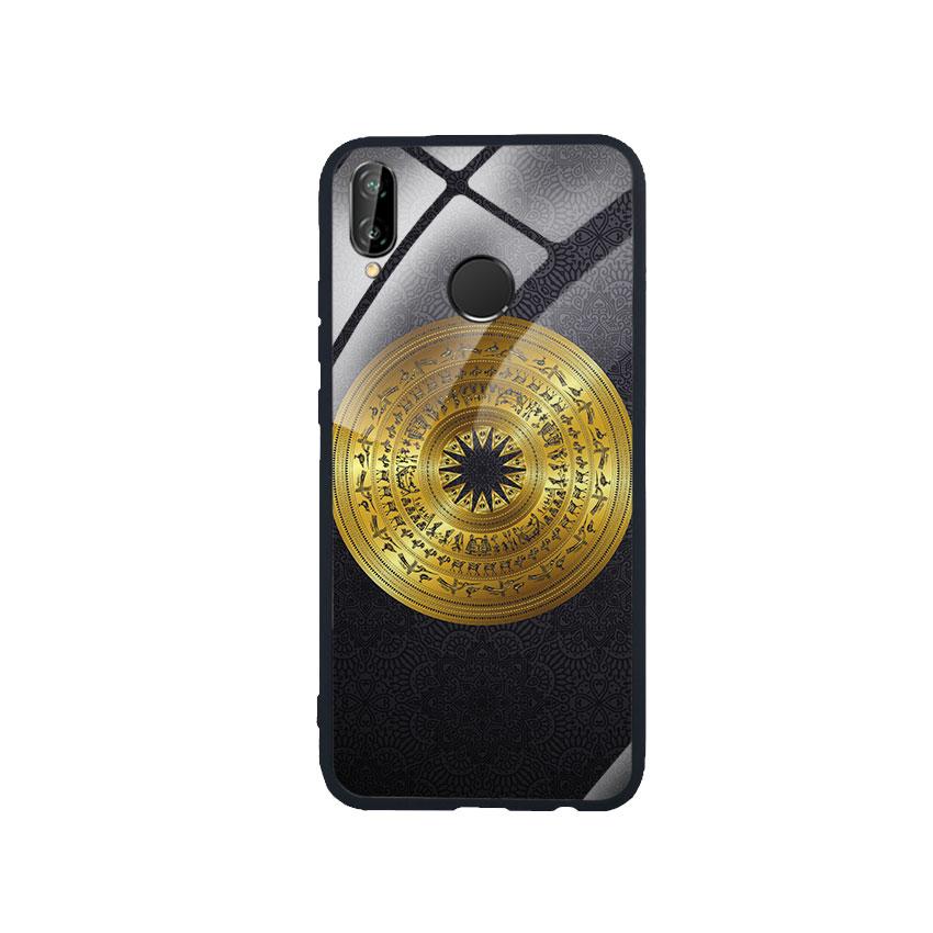 Ốp Lưng Kính Cường Lực cho điện thoại Huawei Nova 3e - Trống Đồng 05