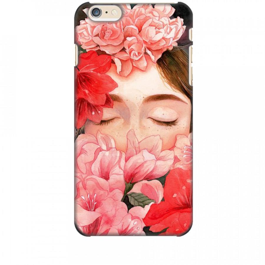 Ốp lưng dành cho điện thoại iPhone 6/6s - 7/8 - 6 Plus - Nàng Hoa