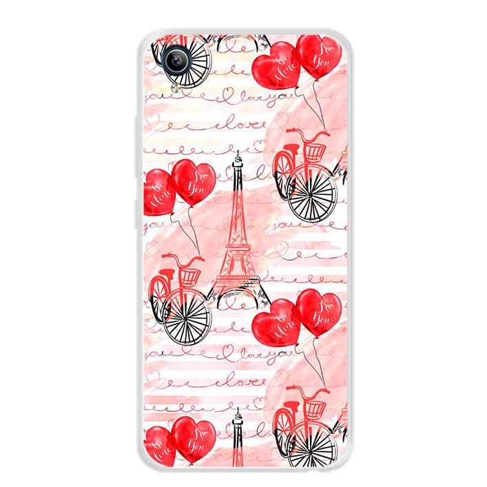 Ốp lưng dẻo cho điện thoại Vivo Y91C - 0039 PARIS05 - Hàng Chính Hãng