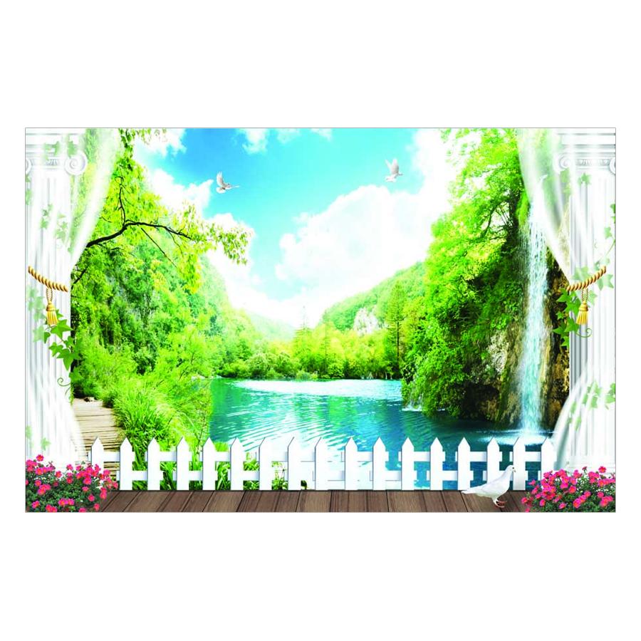 Tranh Dán Tường Phong Cảnh 3D TV0134