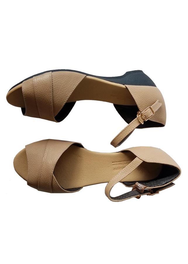 Giày Búp Bê Đế Xuồng Da Bò Thật Cao Cấp BB37