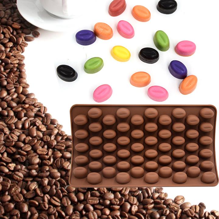 Khuôn silicon làm thạch rau câu, socola 55 hạt cà phê - 7324118 , 4675742369676 , 62_15089445 , 89000 , Khuon-silicon-lam-thach-rau-cau-socola-55-hat-ca-phe-62_15089445 , tiki.vn , Khuôn silicon làm thạch rau câu, socola 55 hạt cà phê