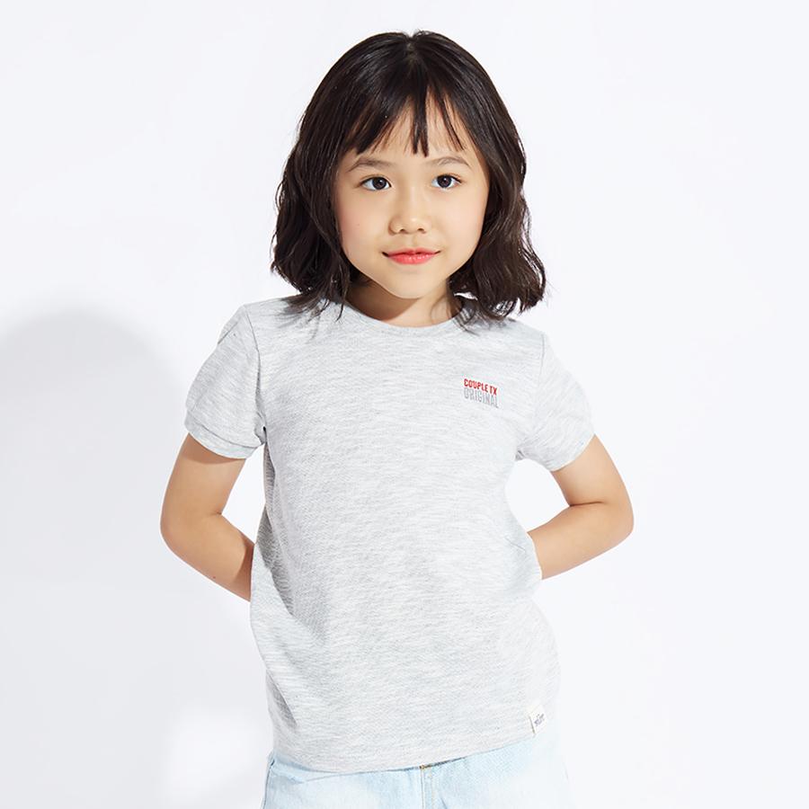 Áo Thun Cho Bé COUPLE TX CUN 2030 Kid - Grey - 882703 , 4563597326732 , 62_4402813 , 179000 , Ao-Thun-Cho-Be-COUPLE-TX-CUN-2030-Kid-Grey-62_4402813 , tiki.vn , Áo Thun Cho Bé COUPLE TX CUN 2030 Kid - Grey