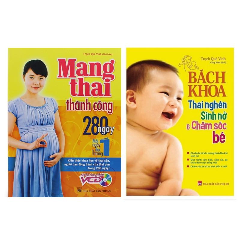 Combo Sách Bà Bầu Nên Đọc:  Bách Khoa Thai Nghén - Sinh Nở Và Chăm Sóc Em Bé + Mang Thai Thành Công - 1589139 , 7718717189200 , 62_10749556 , 238000 , Combo-Sach-Ba-Bau-Nen-Doc-Bach-Khoa-Thai-Nghen-Sinh-No-Va-Cham-Soc-Em-Be-Mang-Thai-Thanh-Cong-62_10749556 , tiki.vn , Combo Sách Bà Bầu Nên Đọc:  Bách Khoa Thai Nghén - Sinh Nở Và Chăm Sóc Em Bé + Mang