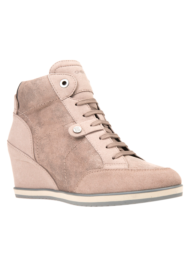 Giày Sneakers Nữ GEOX D Illusion A Shi.Goa Sue+Sue Taupe
