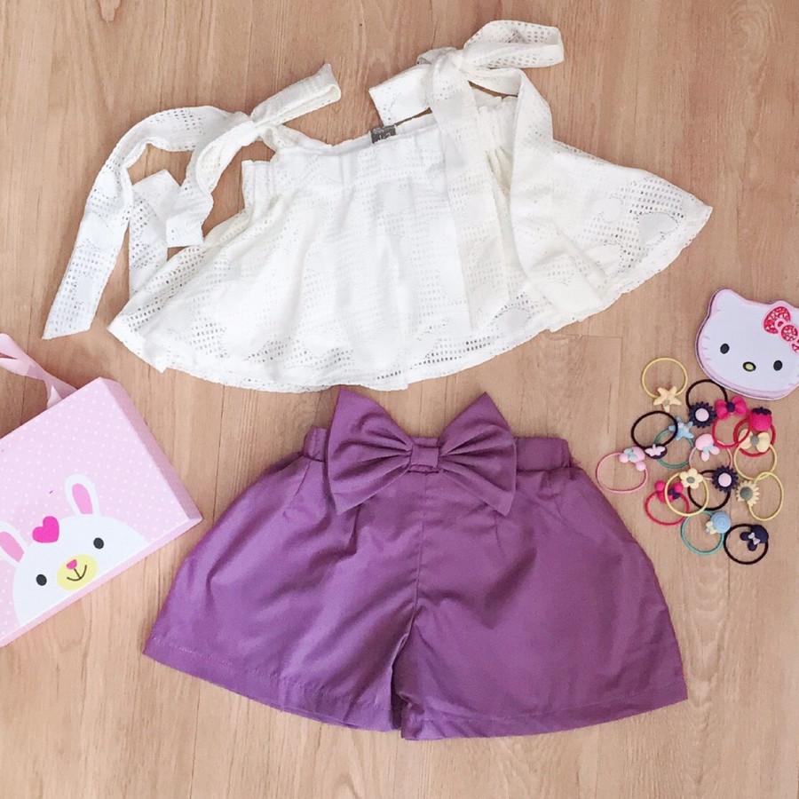 Bộ áo hai dây ren phối quần kaki nơ cực ky dễ thương cho bé diện mùa hè - 9714048 , 8307217894654 , 62_16069513 , 160000 , Bo-ao-hai-day-ren-phoi-quan-kaki-no-cuc-ky-de-thuong-cho-be-dien-mua-he-62_16069513 , tiki.vn , Bộ áo hai dây ren phối quần kaki nơ cực ky dễ thương cho bé diện mùa hè