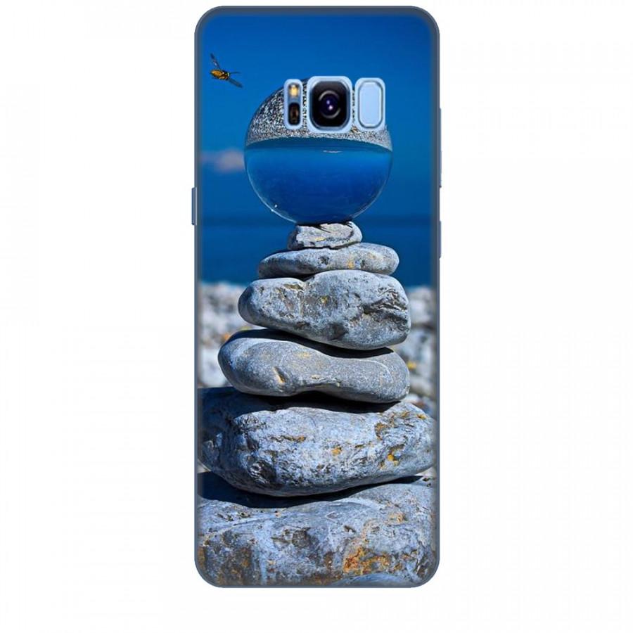 Ốp lưng dành cho điện thoại  SAMSUNG GALAXY S8 Đá Ngủ Sắc