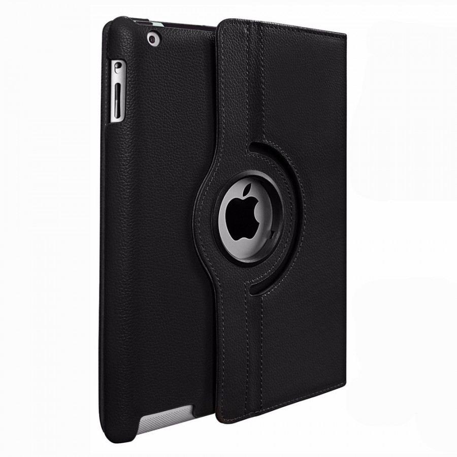 360 Degree Rotating Stand Pu Leather Case Cover For Apple iPad2 iPad3 iPad4 - 7767061 , 3577999690576 , 62_15927921 , 186000 , 360-Degree-Rotating-Stand-Pu-Leather-Case-Cover-For-Apple-iPad2-iPad3-iPad4-62_15927921 , tiki.vn , 360 Degree Rotating Stand Pu Leather Case Cover For Apple iPad2 iPad3 iPad4