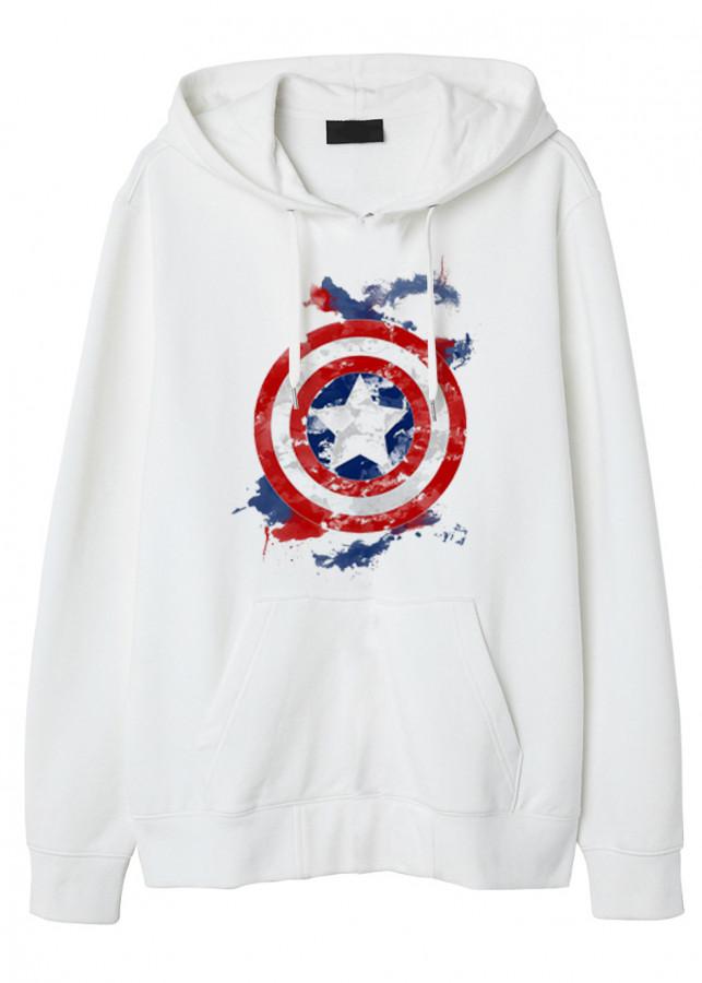 Mẫu Hoodie Captain America