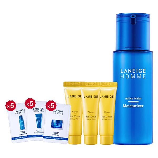 Bộ Sữa Dưỡng Ẩm Laneige Homme Active Water Moisturizer (125ml)