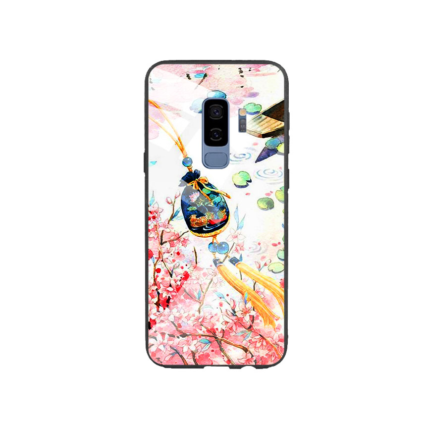 Ốp Lưng Kính Cường Lực cho điện thoại Samsung Galaxy S9 Plus - DHCL Mẫu 3