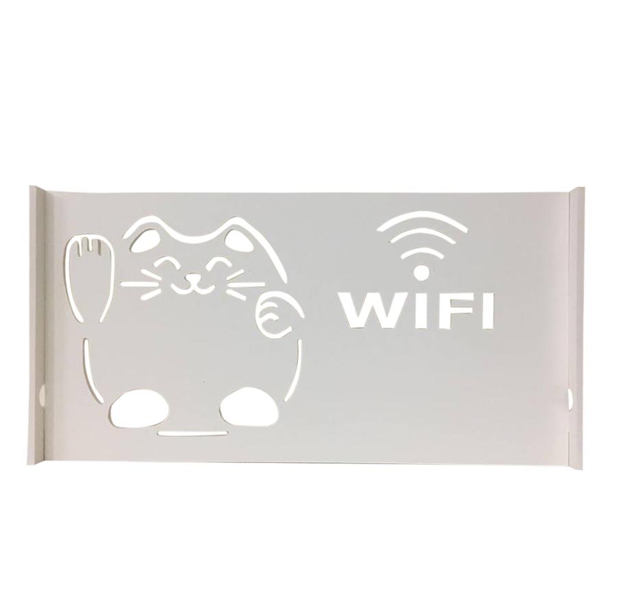 Kệ Wifi Treo Tường Mèo Thần Tài TADA TD1005