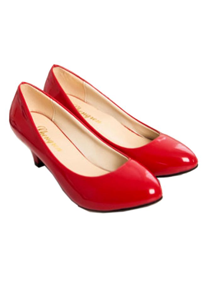 Giày gót thấp nữ đáng yêu 169 - 5277985 , 8157077211975 , 62_4108685 , 350000 , Giay-got-thap-nu-dang-yeu-169-62_4108685 , tiki.vn , Giày gót thấp nữ đáng yêu 169