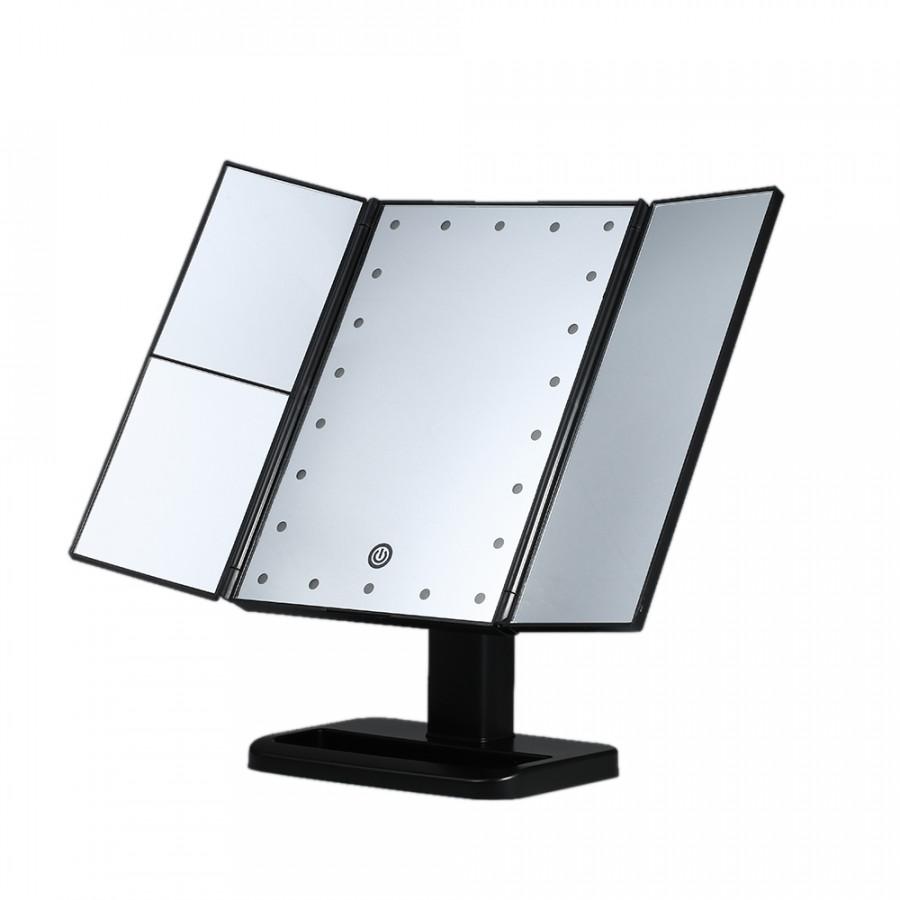 Gương Trang Điểm Với 21 Đèn LED Cảm Ứng