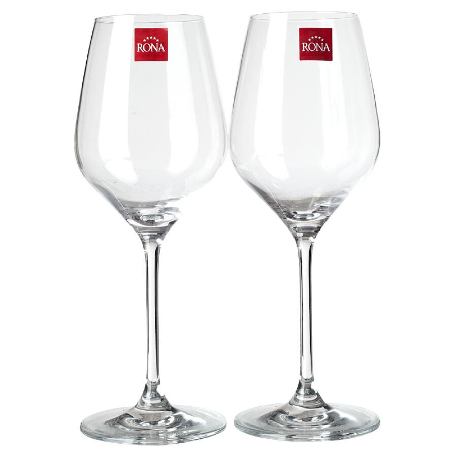 Bộ 2 Ly Rượu Vang LONA (RONA) (470ml)