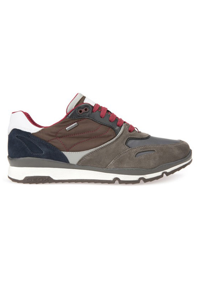 Giày Sneakers Nam Geox U SANDFORD B ABX A Charcoal/Ebony - 950833 , 6242962574296 , 62_5110937 , 4400000 , Giay-Sneakers-Nam-Geox-U-SANDFORD-B-ABX-A-Charcoal-Ebony-62_5110937 , tiki.vn , Giày Sneakers Nam Geox U SANDFORD B ABX A Charcoal/Ebony