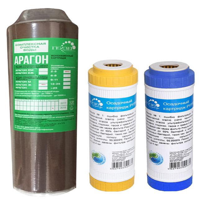 Lõi lọc nước số 3 dùng cho máy lọc nước Nano kèm lõi lọc số 1,2