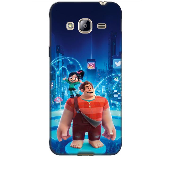 Ốp lưng dành cho điện thoại  SAMSUNG GALAXY J3 2016 hình Big Hero Mẫu 01