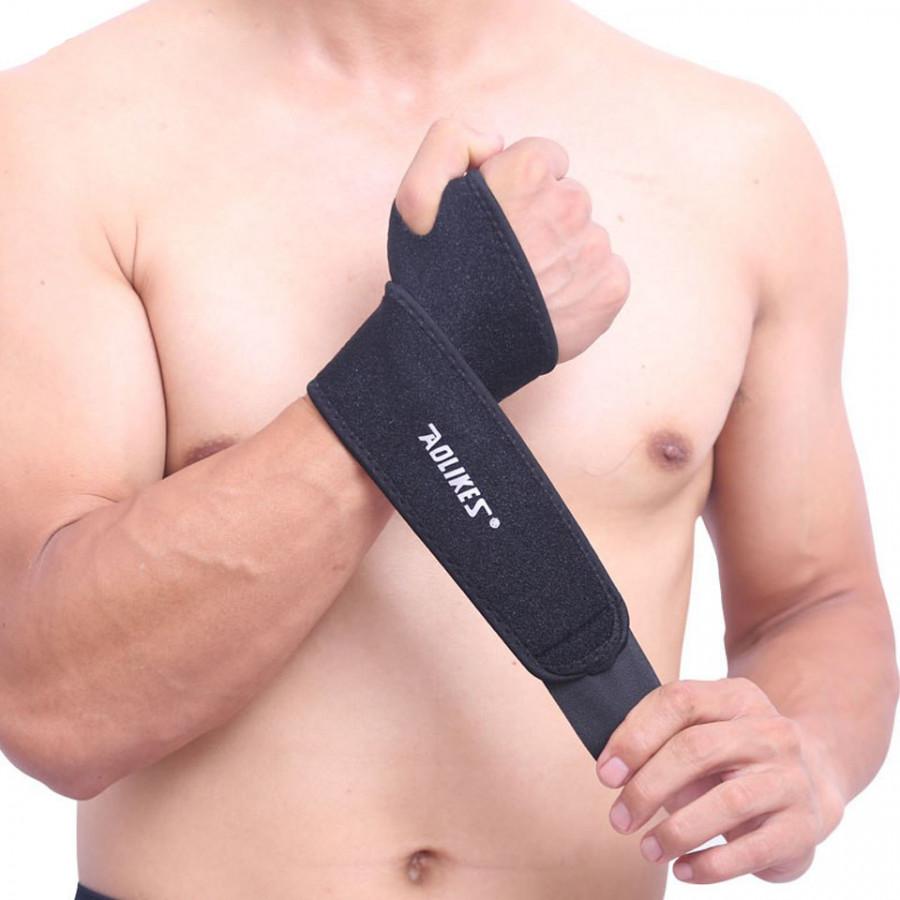 Quấn Nẹp Cổ Tay Bảo Vệ Hỗ Trợ Xương Ống Khớp Cổ Tay Khi Tập Gym, Chơi Thể Thao Pressure Adjustable Wrist Support... - 2165393 , 9425707434803 , 62_13866306 , 169000 , Quan-Nep-Co-Tay-Bao-Ve-Ho-Tro-Xuong-Ong-Khop-Co-Tay-Khi-Tap-Gym-Choi-The-Thao-Pressure-Adjustable-Wrist-Support...-62_13866306 , tiki.vn , Quấn Nẹp Cổ Tay Bảo Vệ Hỗ Trợ Xương Ống Khớp Cổ Tay Khi Tập Gy