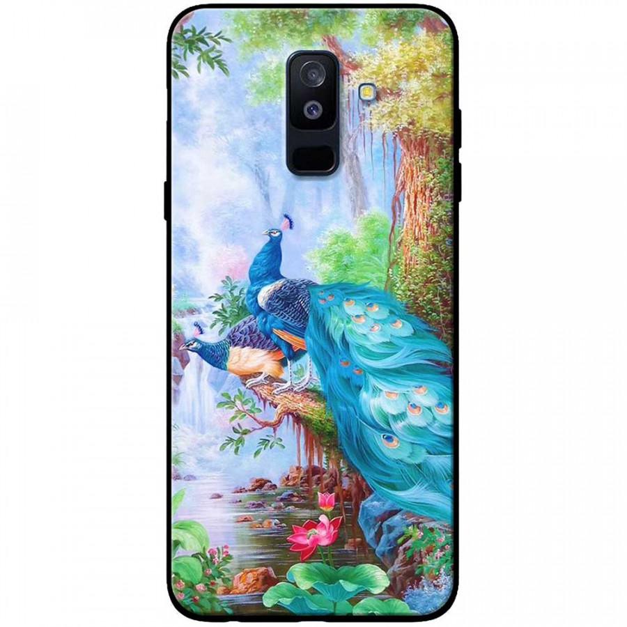 Ốp lưng dành cho Samsung Galaxy A6 Plus (2018) mẫu Chim công, sen - 20135834 , 4611194959973 , 62_20812088 , 150000 , Op-lung-danh-cho-Samsung-Galaxy-A6-Plus-2018-mau-Chim-cong-sen-62_20812088 , tiki.vn , Ốp lưng dành cho Samsung Galaxy A6 Plus (2018) mẫu Chim công, sen