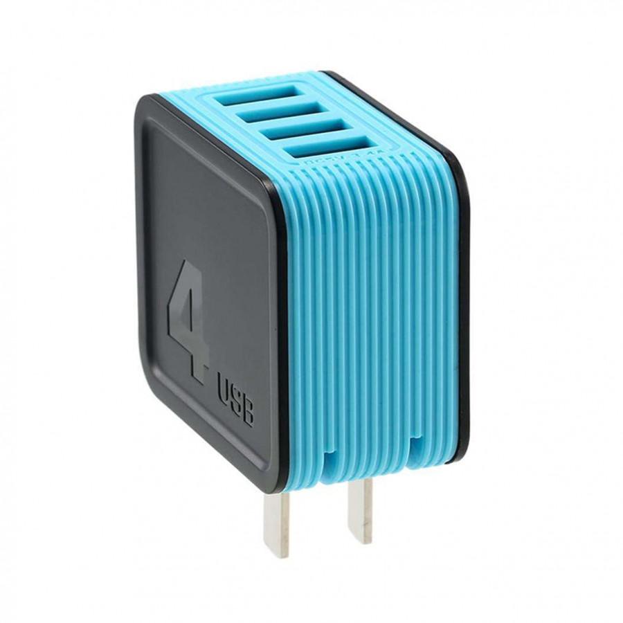 CỦ SẠC 4 CỔNG USB 3.4A Remax RB-U40 - Sạc Nhanh - Chính Hãng - 2253845 , 3506770647065 , 62_14450168 , 599000 , CU-SAC-4-CONG-USB-3.4A-Remax-RB-U40-Sac-Nhanh-Chinh-Hang-62_14450168 , tiki.vn , CỦ SẠC 4 CỔNG USB 3.4A Remax RB-U40 - Sạc Nhanh - Chính Hãng