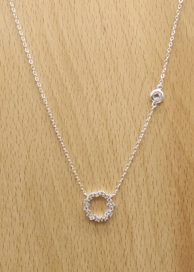 Dây chuyền bạc Ý S925 Bạc xinh Huệ Ngân - Huyền Thoại Biển Xanh PP1528