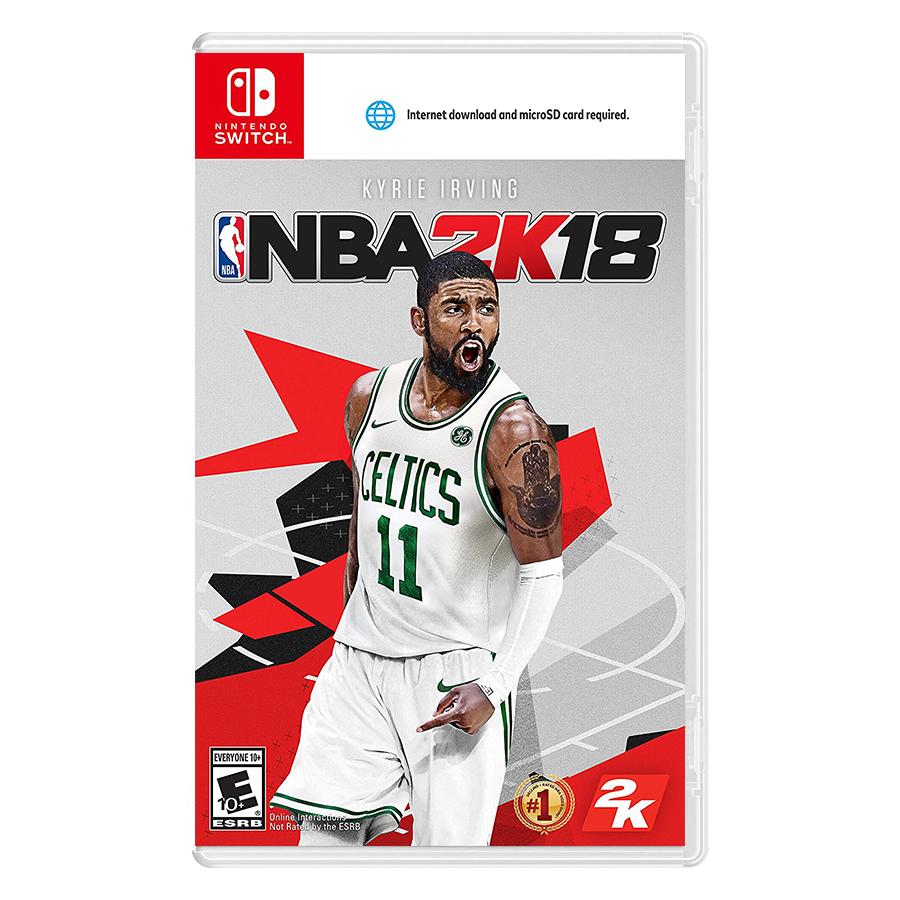 Đĩa Game Nintendo Switch NBA 2k18