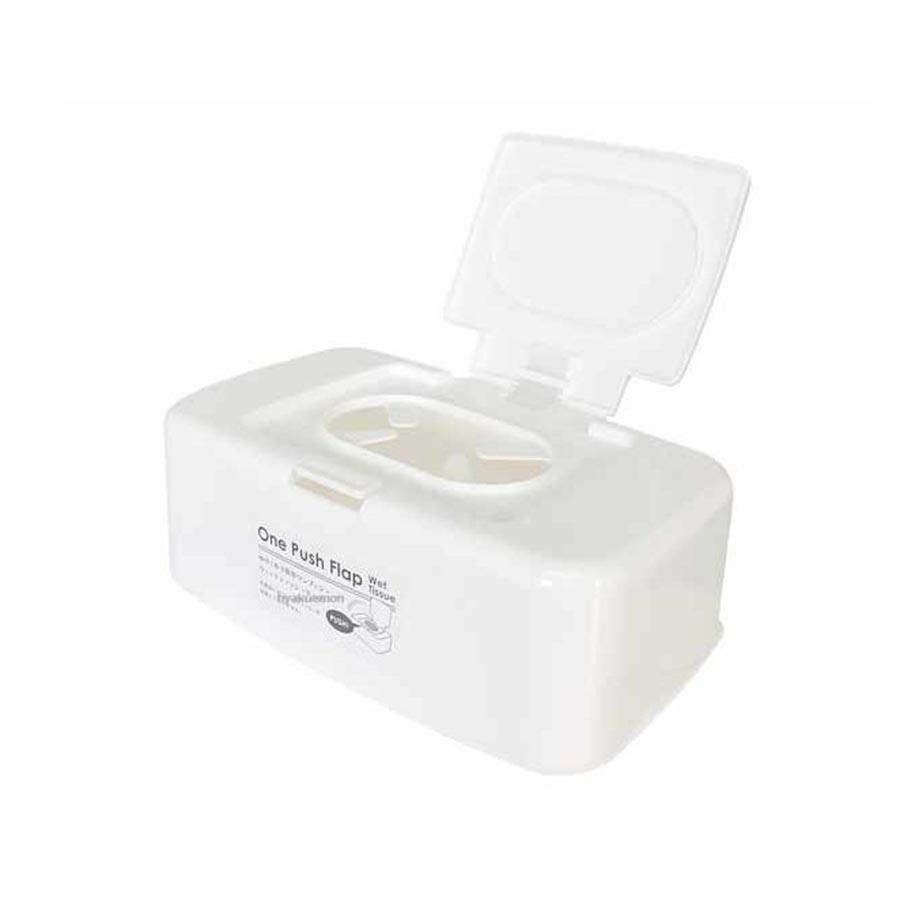 Hộp nhựa trắng đựng khăn giấy ướt có nắp tiện lợi - Hàng nội địa Nhật - 1887082 , 3201395984334 , 62_15392445 , 89000 , Hop-nhua-trang-dung-khan-giay-uot-co-nap-tien-loi-Hang-noi-dia-Nhat-62_15392445 , tiki.vn , Hộp nhựa trắng đựng khăn giấy ướt có nắp tiện lợi - Hàng nội địa Nhật