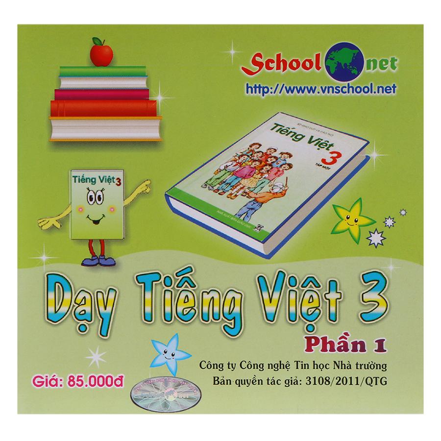 Phần Mềm Dạy Tiếng Việt 3 Phần 1 DTV3P1