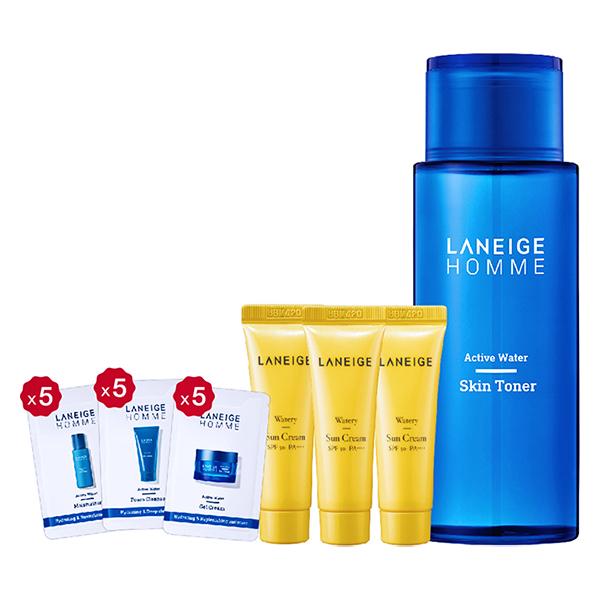 Bộ Nước Cân Bằng Laneige Homme Active Water Skin Toner (180ml)