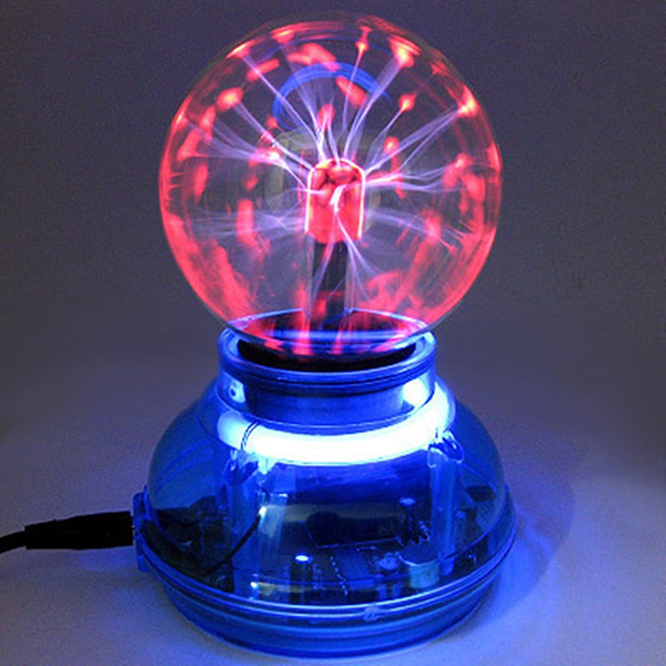 Magic USB Plasma Ball Light Crystal Lamp Desktop Globe Laptop Disco Stage