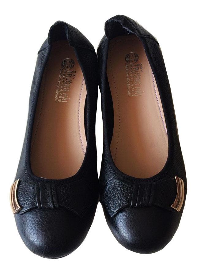 Giày búp bê nữ da bò cao cấp Trường Hải BB004 - 2224470 , 2374916893307 , 62_14270360 , 499000 , Giay-bup-be-nu-da-bo-cao-cap-Truong-Hai-BB004-62_14270360 , tiki.vn , Giày búp bê nữ da bò cao cấp Trường Hải BB004