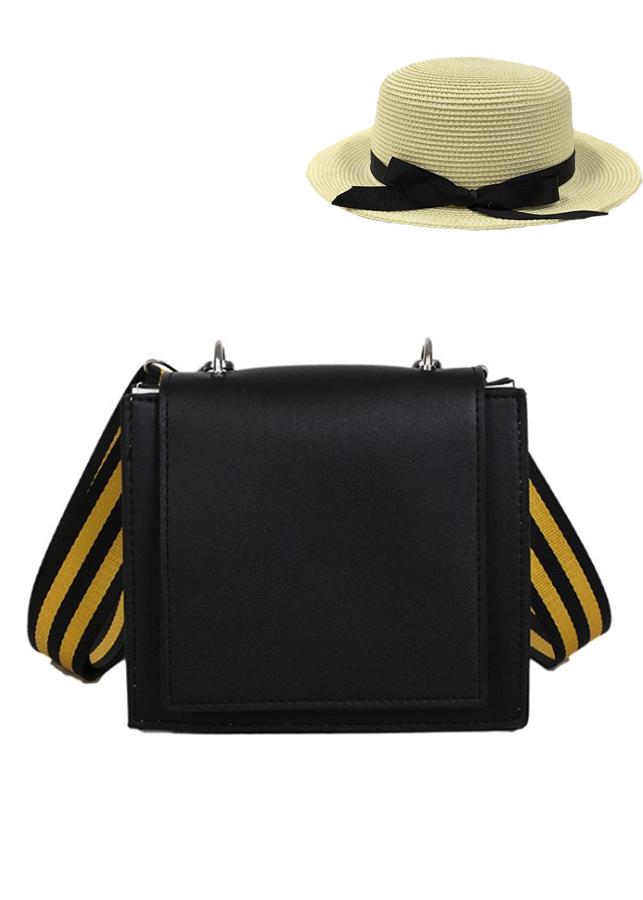 Combo túi đeo chéo dây sọc vàng và nón cói nữ (màu ngẫu nhiên ) cực XINH CN02 - 792021 , 1410991628999 , 62_12647231 , 489000 , Combo-tui-deo-cheo-day-soc-vang-va-non-coi-nu-mau-ngau-nhien-cuc-XINH-CN02-62_12647231 , tiki.vn , Combo túi đeo chéo dây sọc vàng và nón cói nữ (màu ngẫu nhiên ) cực XINH CN02