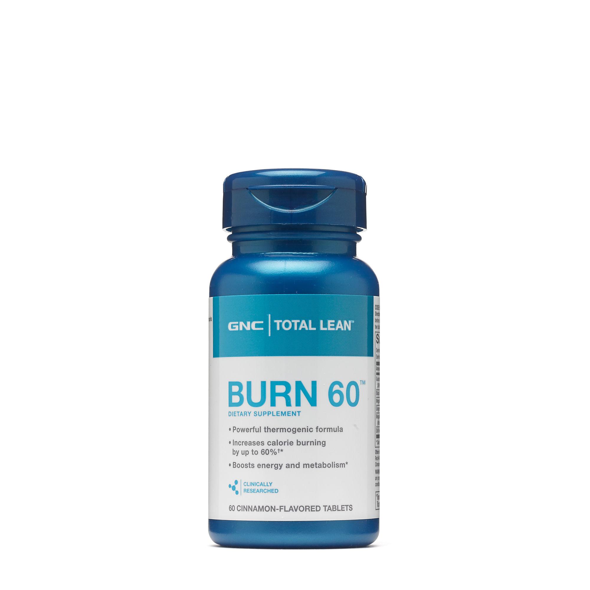 Thực Phẩm Chức Năng Hỗ trợ giảm cân GNC Burn 60 (60 viên/Hộp) - 943449 , 2494335480459 , 62_2068603 , 849000 , Thuc-Pham-Chuc-Nang-Ho-tro-giam-can-GNC-Burn-60-60-vien-Hop-62_2068603 , tiki.vn , Thực Phẩm Chức Năng Hỗ trợ giảm cân GNC Burn 60 (60 viên/Hộp)